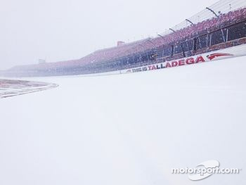 Winter at Talladega