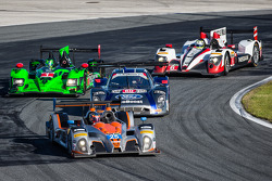 #25 8Star Motorsports ORECA FLM09 Chevrolet: Enzo Potolicchio, Tom Kimber-Smith, Michael Marsal, #60 Michael Shank Racing with Curb/Agajanian Riley DP Ford EcoBoost: John Pew, Oswaldo Negri, A.J. Allmendinger, Justin Wilson, #1 Extreme Speed Motorsports H