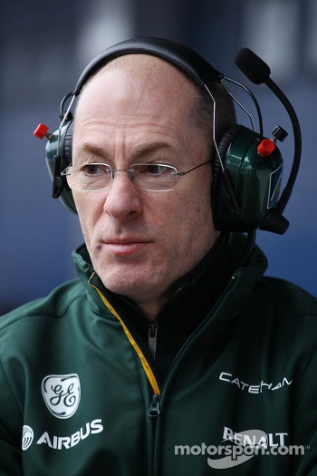 Mark Smith, Caterham F1 Team Technical Director