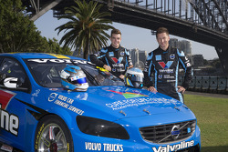 Robert Dahlgren and Scott McLaughlin, Polestar Racing Volvo S60