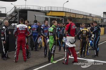 The 2014 class of drivers arrive
