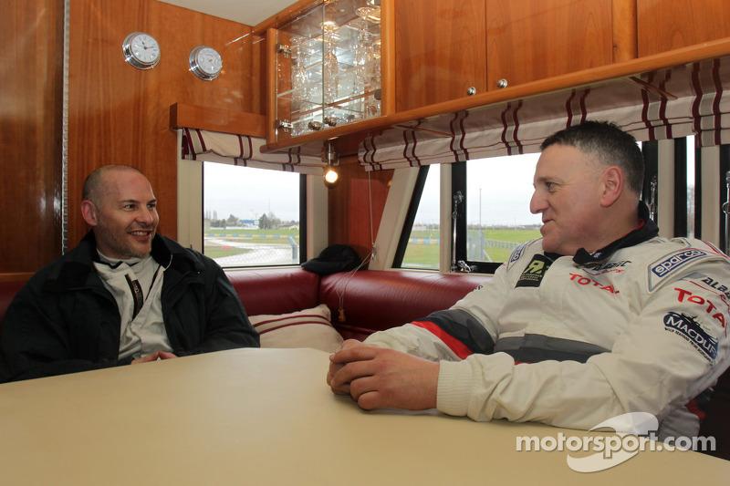 Jacques Villeneuve and Andy Scott