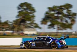 #32 GMG Racing Audi R8 LMS: James Sofronas, Alex Welch, Marc Basseng