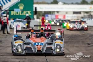 #25 8Star Motorsports ORECA FLM09 Chevrolet: Enzo Potolicchio, Tom Kimber-Smith, Michael Marsal