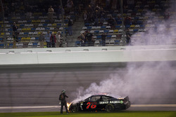 Trouble for Martin Truex Jr., Furniture Row Racing Chevrolet