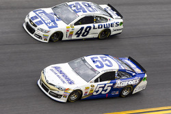 Brian Vickers and Jimmie Johnson