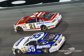Brian Vickers and Trevor Bayne
