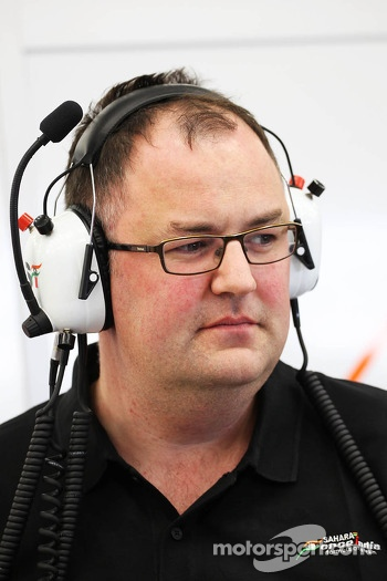 Tom McCulloch, Sahara Force India F1 Team Chief Engineer