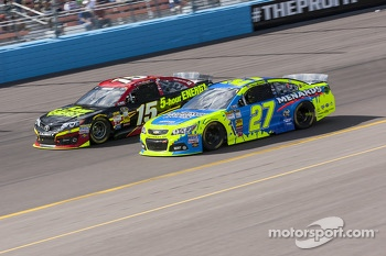 Paul Menard and Clint Bowyer