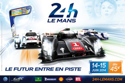 2014 Le Mans 24 Hours poster