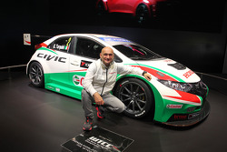 Honda Civic WTCC and Gabriele Tarquini