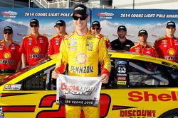 NASCAR-CUP: Polesitter Joey Logano, Team Penske Ford