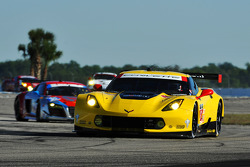 #3 Corvette Racing Chevrolet Corvette C7.R: Jan Magnussen, Antonio Garcia, Ryan Briscoe