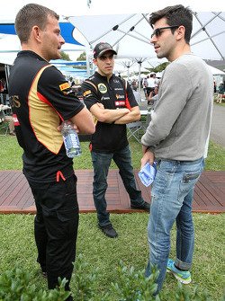 Pastor Maldonado, Lotus F1 Team and Jaime Alguersuari (ESP)