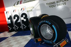 Pirelli tyre display