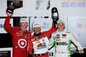 North American Endurance Cup leaders Scott Dixon, Tony Kanaan, Sage Karam