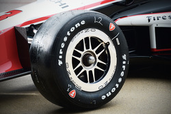 Firestone tire detail