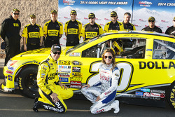 Polesitter Matt Kenseth, Joe Gibbs Racing Toyota
