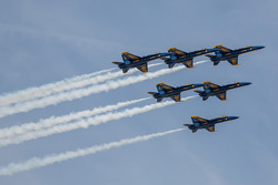 Blue Angles flyover