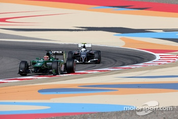 Robin Frijns, Third Driver, Caterham F1 Team and Giedo van der Garde, third driver, Sauber F1 Team