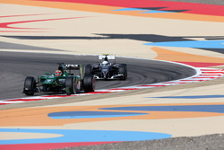 Robin Frijns, Third Driver, Caterham F1 Team and Giedo van der Garde, third driver, Sauber F1 Team