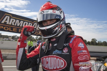 Polesitter Fabian Coulthard, Lockwood Racing