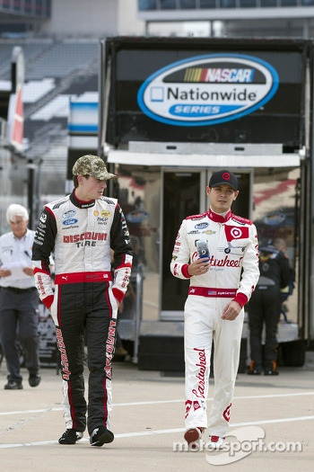 Ryan Blaney and Kyle Larson
