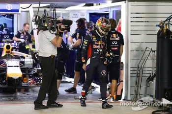Sebastian Vettel, Red Bull Racing finishes outside the top ten in Q2