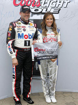 NASCAR-CUP: Polesitter Tony Stewart, Stewart-Haas Chevrolet