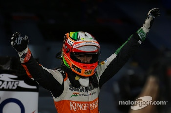 3rd place Sergio Perez, Sahara Force India F1
