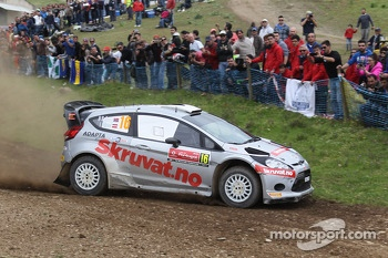 Henning Solberg and Ilka Minor, Ford Fiesta WRC