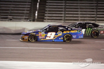Chase Elliott and Kyle Busch