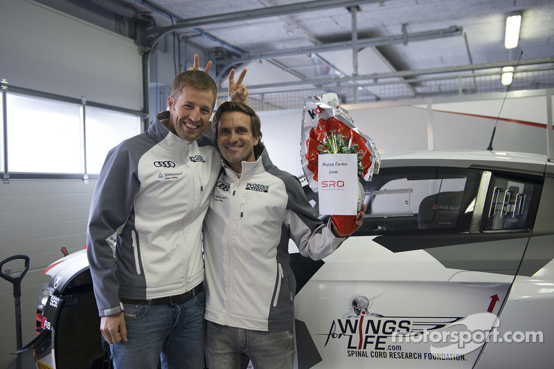 Happy Easter from Niki Mayr-Melnhof, Markus Winkelhock
