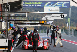 #13 Rebellion Racing Rebellion R-One - Toyota: Dominik Kraihamer, Andrea Belicchi, Fabio Leimer