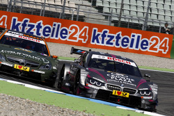 Robert Wickens, Mercedes AMG DTM-Team HWA DTM Mercedes AMG C-CoupÈ, Joey Hand, BMW Team RBM BMW M4 DTM