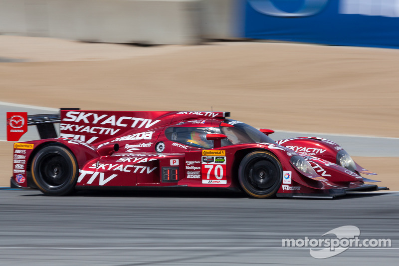 #70 SpeedSource Mazda: Tom Long, Sylvain Tremblay