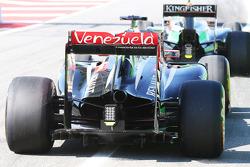 Lotus F1 E22 rear wing