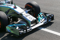 Nico Rosberg, Mercedes AMG F1 W05 front wing