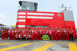 The Ferrari team remember the 1996 Spanish GP at Barcelona, where Michael Schumacher, won his first GP with the team