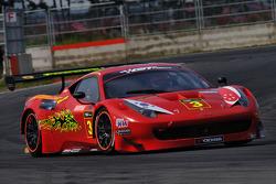 GT: Clearwater Racing Ferrari 458 Italia GT3: Keita Sawa, Mok Weng Sun