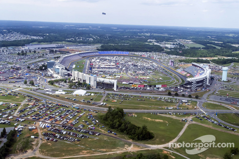The View Of Charlotte Motor Speedway From Kurt Busch 39 S