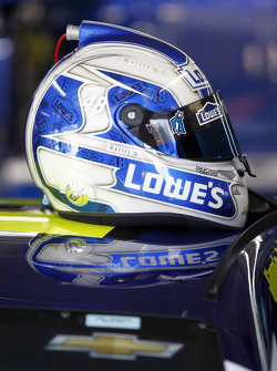 Helmet of Jimmie Johnson