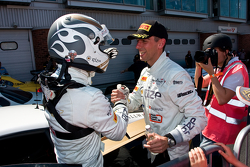 Race winners Hari Proczyk, Jeroen Bleekemolen