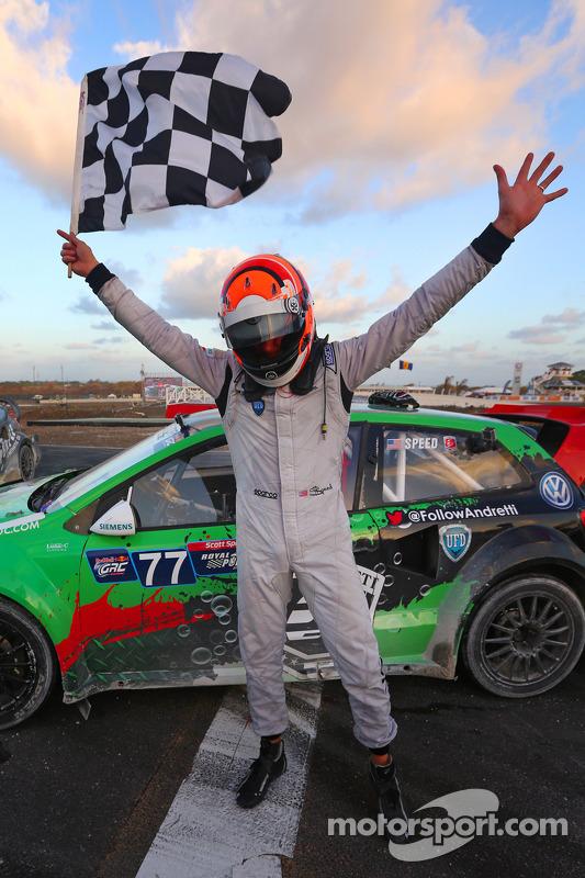 Winner Scott Speed