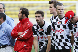 Jules Bianchi, Marussia F1 Team at Bahrain the charity football match