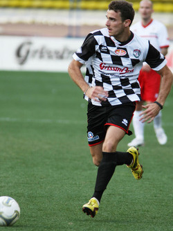 Giancarlo Fisichella, at the charity football match