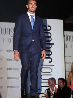Jules Bianchi, Marussia F1 Team at the Amber Lounge Fashion Show