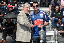 Graham Rahal gets his starter's ring