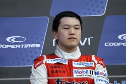 Podium: third place Peter Li Zhi Cong