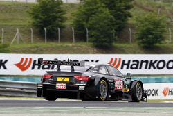 Timo Scheider, Audi Sport Team Phoenix Audi RS 5 DTM with a broken rear wing
